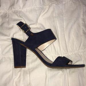 Cole Haan velvet heels